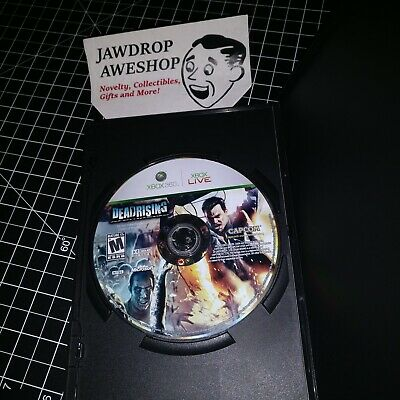Dead Rising Xbox 360 (Disc Only) Zombie Fps Shooter Horror Game Deadrising 1 One
