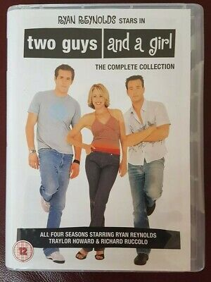 Two Guys and a Girl- Complete Series 1-4 (DVD) Ryan Reynolds, Nathan Fillion