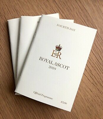 Fourth Day Royal Ascot 2019 Official Programme