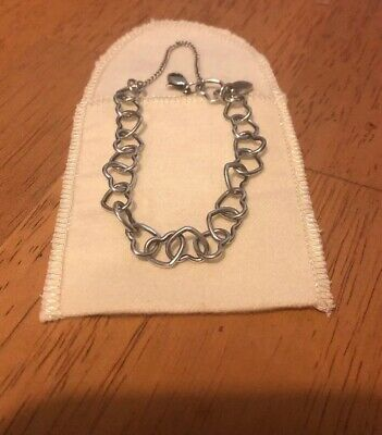 b36e732617c31 JAMES AVERY STERLING Silver Connected Hearts Charm Bracelet - $50.00 ...
