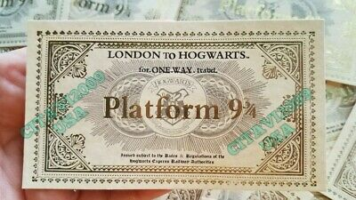 image relating to Hogwarts Express Ticket Printable identify Fresh new! HARRY POTTER Hogwarts Categorical Practice Ticket System 9 3/4. Souvenir Poster.