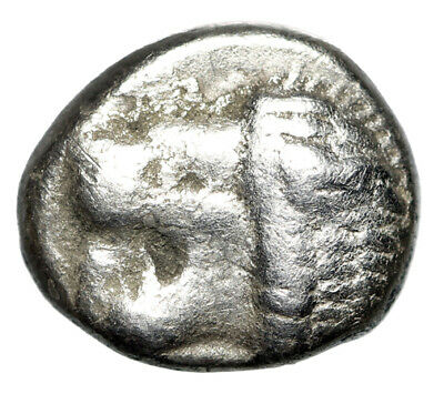 "OLDEST GREEK SILVER COIN of Miletos in Ionia ""Roaring Lion & Star"" CERTIFIED"