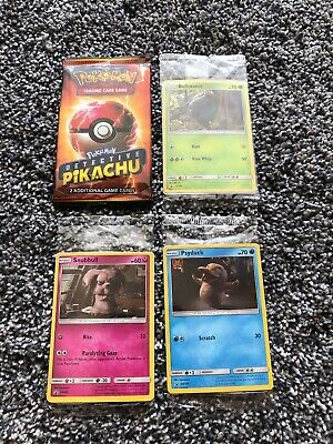 Pokemon Detective Pikachu Movie Packs Sealed Promo 190 198 199 200 Cards