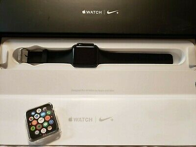Apple Watch Series 2 Nike+ 42mm Smartwatch - Black/Volt Band (MPOA2LL/A) GPS