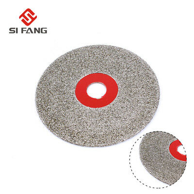 100mm 4/'/' Glass Stone Grinding Cutting Tool Diamond Coated Flat Wheel Disc S6 JB
