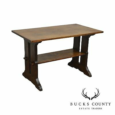 Gustav Stickley Antique Mission Oak Library Table