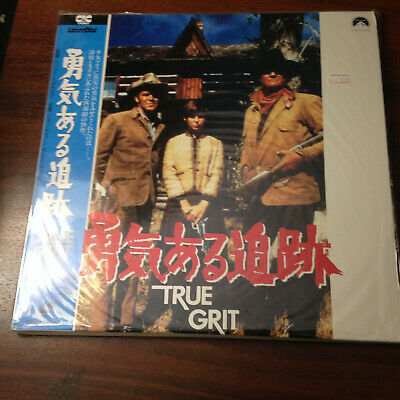 Laserdisc - NTSC - True Grit SF093-1647 Japan Release