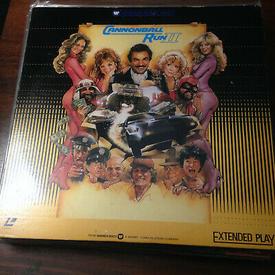 Laserdisc - NTSC - Cannonball Run II 08JL-61377  Japan Release