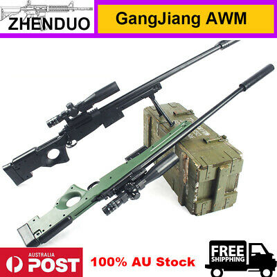 GangJiang AWM Gel Ball Blaster Toy Gun Sniper Manual Bolt Mag-fed 100% AU Stock