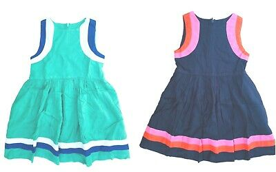 Boden Sporty Woven Dress Ex Mini Boden Girls Dress  Age 3-12 Years RRP £32