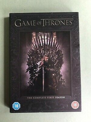 Game of Thrones: The Complete First Season / Season One / Series 1 - DVD Box Set