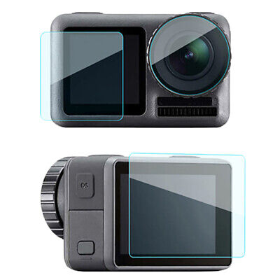 For Dji Osmo Action Sport Camera Tempered Glass Screen Protector Lens Scrat O6H6