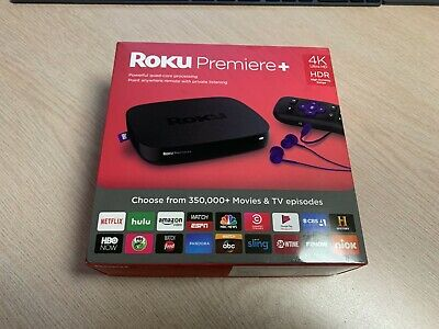 Roku Premiere+ HD and 4K UHD Streaming Media Player with HDR