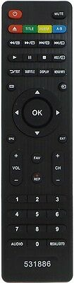 LED LCD HD TV Remote for LINDEN TV Models - No setup required