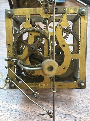 Antique William Sprague Cuckoo Clock Movement For Restoration