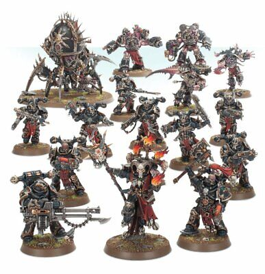 Daemonkin 1/2 of Shadowspear set (16 models) - Chaos Space Marines- New on Sprue