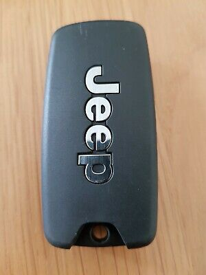 Jeep 4 Button Remote Car Key Fob In Working Order (Ref 381)