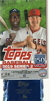 2019 Topps Series 2 Baseball Factory Sealed Hobby Box W/1 Silver Pack