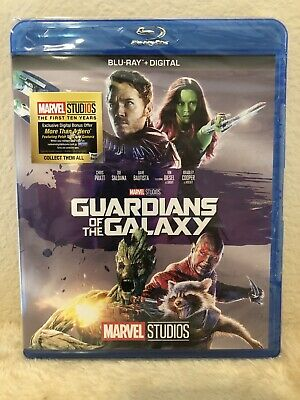Guardians of the Galaxy Blu-ray - No digital (DISC UNTOUCHED)