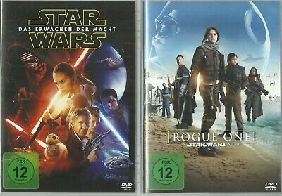 Star Wars : Rogue One & Star Wars : Das Erwachen der Macht / 2 DVD Bundle