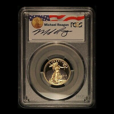 2018-W $10 American Gold Eagle 1/4 oz PCGS PR70DCAM - Free Shipping USA