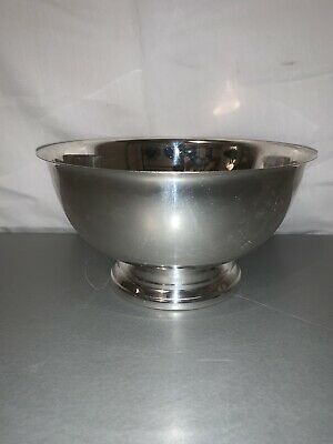 "Towle Silver 8"" Footed Bowl Vintage"