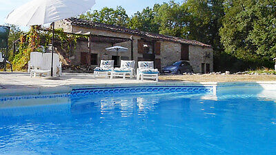 SW France, stone villa, private pool. SAVE £300 on school summer holiday
