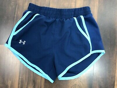 under armour girls shorts blues no tag appears xs girls R15