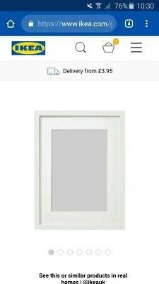 Job Lot Of 15 Ikea white Picture Frames