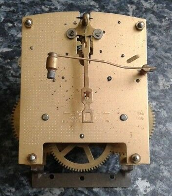 1955 Clock Mechanism With Chimes (Not Westminster)