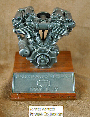 James Arness Marshal Dillon Harley Davidson Collectible Knucklehead Engine