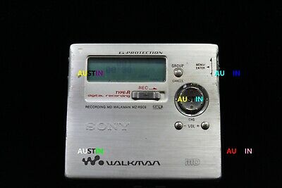 Sony Mz R909 Minidisc Recorder With  Microphone