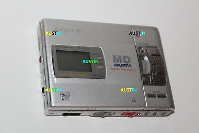 Sony Mz R50 Minidisc Player Recorder Md With Microphone