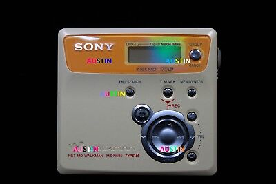 Sony Mz N505 Net Md   Minidisc Player