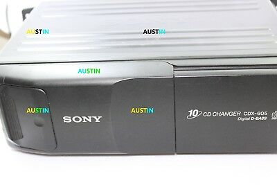 Sony Cdx 605 Compact 10 Disc Cd Changer For Cars