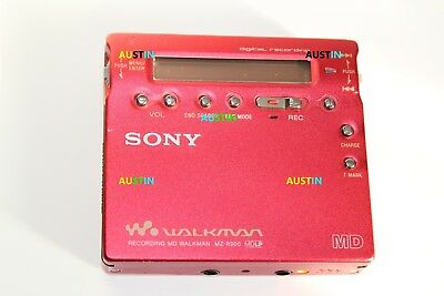 Sony Mz R900 Minidisc Player  Md With Microphone.