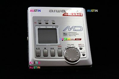 Aiwa Am F75 Minidisc Recorder With Microphone  Md  Minidisc