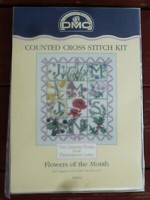 Country Diary of an Edwardian Lady Flowers of the Month Cross Stitch Kit K3814