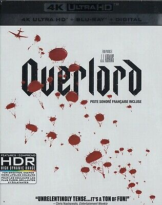 Overlord (4K Ultra Hd/Bluray)(2 Disc Set)(Used)