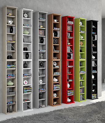 "VCM Shelf Cabinet Furniture Storage Unit Bookcase CD DVD Display Wooden ""Bigol"""
