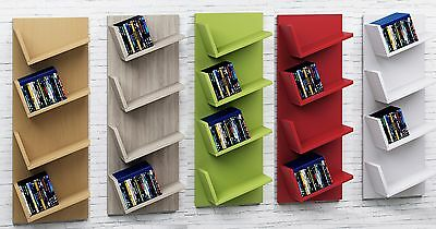 VCM Floating Wall Shelf Shelves Storage Unit Bookshelf Bookcase CD DVD Lansi