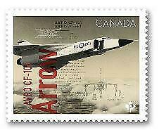 2019 Canada 🍁 AVRO CF-105 ARROW 🍁 Canadians In Flight Series -MNH Single Stamp