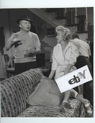 MARILYN MONROE Billy Wilder Seven Year Itch On Set Candid Rare Vintage Original