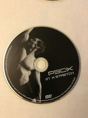P90X X STRETCH Replacement DVD Disk 07 Tested Ships Fast