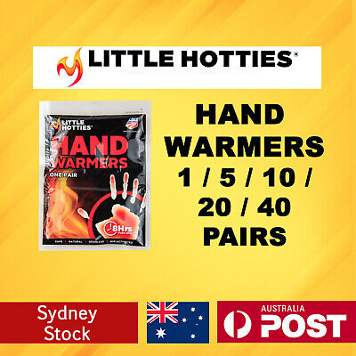 Little Hotties Hand Warmers 1/5/10/20/40 Pairs Heat Pack 8 Hours Warmer New