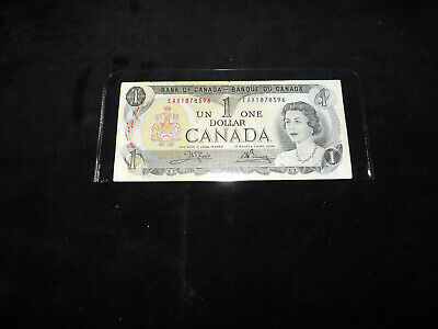 Bank Of Canada- 1973 $1.00 Replacement Note Eax1878596