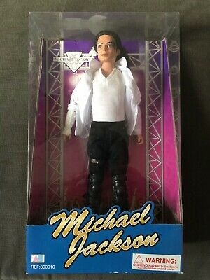 Michael Jackson Black Or White Boxed Doll Collectable