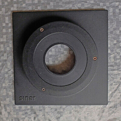 Sinar raised extended tophat lens panel for P, P2 F, F2, Norma large format