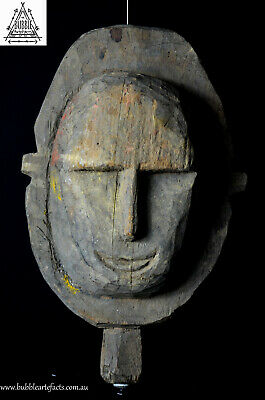 Rare Fine Abelam House Mask for Yam Cult, Maprik Region, Papua New Guinea, PNG