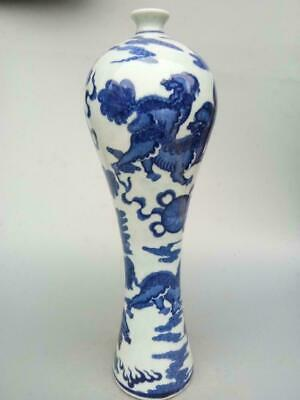 Chinese Jing dezhen Unique style blue and white porcelain vase